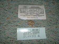 Oddballs decals N Gauge Union Pacific PS2-CD grain hopper 1979 ptd UP grey   H42