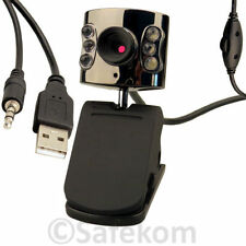 8MP webcam integrata LED Plug Play connettività USB 2.0 Video Recorder FUNZIONE