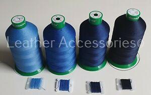 Kit Upholstery BLUE Thread & Needle Hand sewing nylon thread Upholstery & Craft