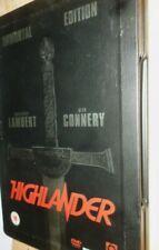 highlander,steelbook,dvd cert 15,immortal edition