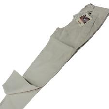 MURPHY & NYE Mens Trousers - Cream - Lightweight Jean Style SIZE W31 L32