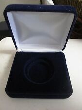 Single Coin Display Box Case velvet Coin Holder