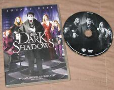 Dark Shadows - Johnny Deep; Michelle Pfeiffer (DVD; 2012) *EDICOLA / BUONO*.