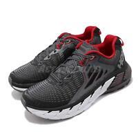 Hoka One One Gaviota Wide Black White Red Mens Cushion Running Shoe 1019623-BFON