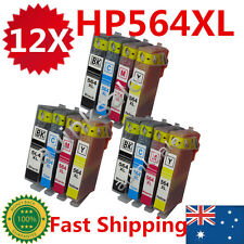12x HP 564XL Ink Cartridges For HP Photosmart 3520 4620 3070 5510 5520 6510 6520