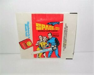 """DONRUSS SPACE 1999 WAX WRAPPER FROM 1976 """"JUST WRAPPER"""""""