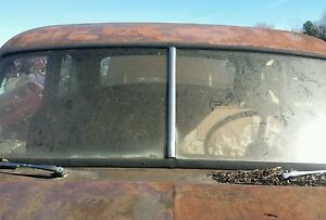 1953 53 Willys windshield center divid stainless steel oem