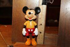 "Vintage Walt Disney Mickey Mouse Action Figure 5-1/2"""