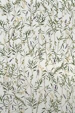 Eucalyptus Floral Stained Glass Privacy Static Cling Window & Door Film 24x36
