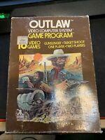 Outlaw (Atari 2600, 1978) *Complete in Box!*