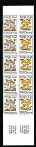 Norway 1988 Booklet Mushrooms 2.90 kr MNH