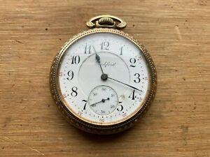 Rockford 16s 17 Jewel Pocket Watch