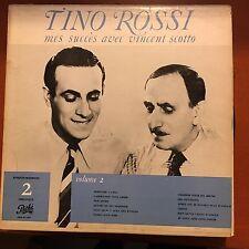 TINO ROSSI-MES SUCCES AVEC VINCENT SCOTTO-CANADA LP