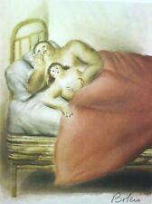 Fernando Botero Lithograph Hand Signed Limited Lussuria / Lust  Collectible