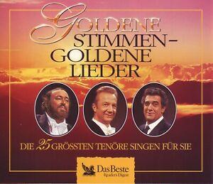 Goldene Stimmen Goldene Lieder - 25 Tenöre singen ....Reader's Digest 5 CD Box