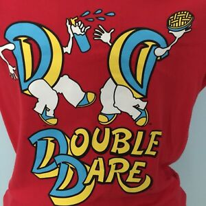 Double Dare Shirt Nickelodeon SDCC 2016 San Diego Comic Con Red Small