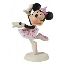 * Precious Moments Disney Figurine Minnie Mouse Ballerina Dance Porcelain Statue
