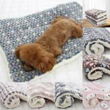 Pet Plush Blanket Sleep Bed Mat Dog Cat Puppy Warm Sleep Soft Blankets Supplies