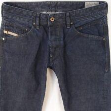 Mens Diesel BELTHER 0088Z Regular Slim Blue Jeans W32 L34