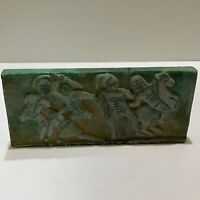 Wonderful Roman sassanian fighters carving unique big stone relief Tile