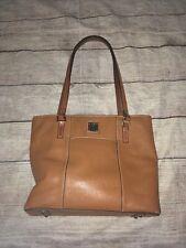 Dooney & Bourke Black Brown Leather