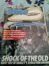 Bike magazine (jan 1984)125 mega test/rs850r/cb1000r/electra glide