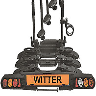 """WITTER ZX703 """"Pure Instinct"""" Towball Mounted 3 Bike Cycle Carrier with foldable"""