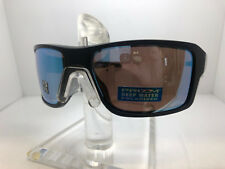 AUTHENTIC OAKELY SUNGLASSES DOUBLE EDGE OO9380-13 MATTE BLK PRIZM DEEP H20 POLAR