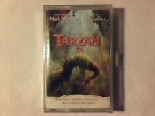 Colonna Sonora Tarzan MC Cassette K7 Italy Walt Disney Rara SIGILLATA