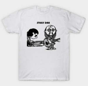 R1 Steely Dan Rock And Roll Charlie Brown Cosplay Funny Cartoon T-shirt