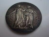 Médaille Argent Massif par ALPHEE DUBOIS prix d'honneur 1928 parfait état