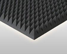 40 m² Akustikschaumstoffe Studio Equipment Profilschaum Schalldämpfung Pyramiden