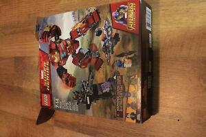 Lego 76104 Marvel Super Heroes The Hulkbuster Smashup Complete Box / No Inst.