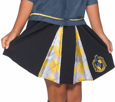 Hufflepuff CHILD Skirt Harry Potter Costume Accessory Standard Size 8-10 NEW