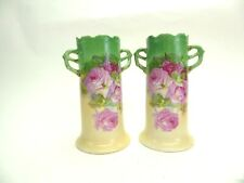 New listing Pair of Altwasse Silesia Hand Painted Vases 22999