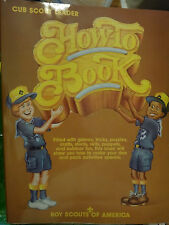 Vintage Cub Scout How to Book Manual 1995 Leader Boy Scouts of America