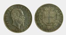 153) Vittorio Emanuele II Re d'Italia (1861-1878) - 5 Lire 1870 ROMA