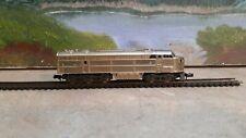 N Scale Brass Atlas Diesel Locomotive w/ Headlight, rare