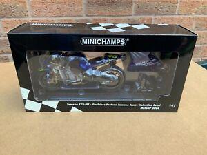 Minichamps 1/12 Valentino Rossi Yamaha YZR-M1 2004