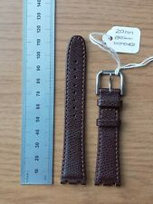 Tissot Notched Leather Watch Strap Band 20mm