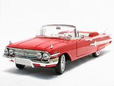 1:18 Motor Max Motormax Red 1960 Chevrolet Impala Convertible Chevy