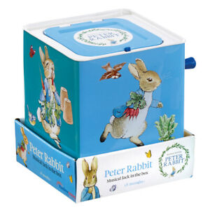 Peter Rabbit Musical Jack in a Box Licensed Beatrix Potter Ages 18 Months +