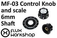 Coloured Control Knob 6mm Shaft Rotary Potentiometer v2 Audio Flux Workshop
