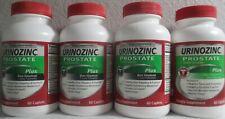 4X Urinozinc Prostate PLUS Beta Sitosterol Saw Palmetto healthy flow function