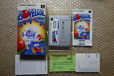 "Bombuzal + Registration ""Good Condition"" Nintendo Super Famicom SFC Japan Import"