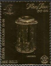 STAFFA (L) Mary Rose/VELIERO/LANTERNA/lampada ad olio/STORIA GOLD 1 V S/A (s394b)