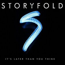 Storyfold - It's Later Than You Think (2014)  CD  NEW/SEALED  SPEEDYPOST