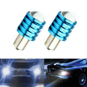 2 x 1156 BA15S P21W 7W High Power CREE Q5 LED Car Bulb White Reverse Light Lamp
