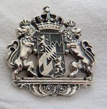 Charivari, Schariwari, Bayernwappen   - Anhänger -  Silber 925