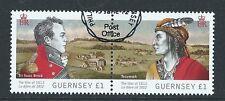 Guernsey 2012 guerra de 1812 par Sir Isaac Brock Fine Used
